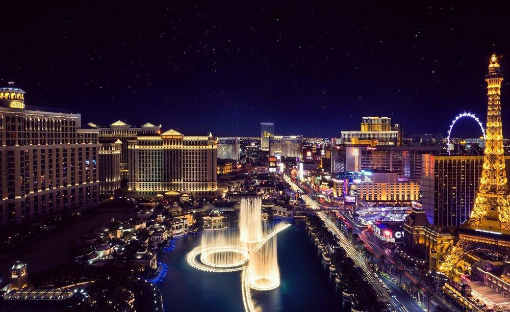 The Las Vegas Strip from The Cosmopolitan