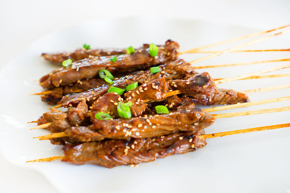 Low Carb Keto Korean BBQ Skewers