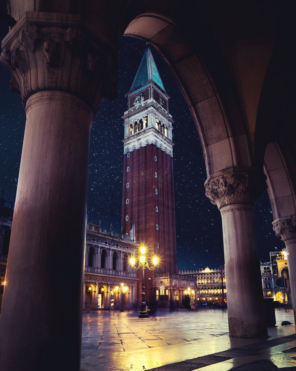 Evening at St. Mark's Square