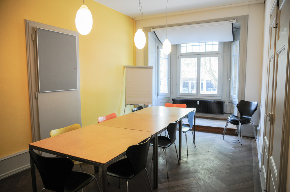 Der Workshopraum