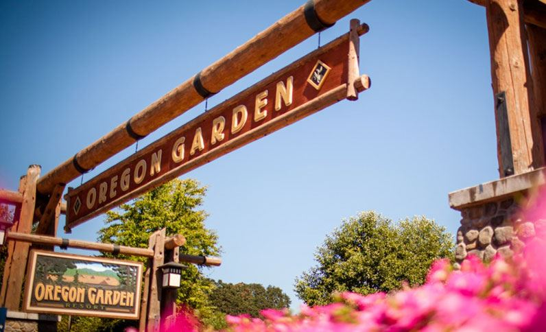 Thanks to our friends at the Oregon Garden for their help with our Grand Prize, a night for two at the Oregon Garden Resort!  -