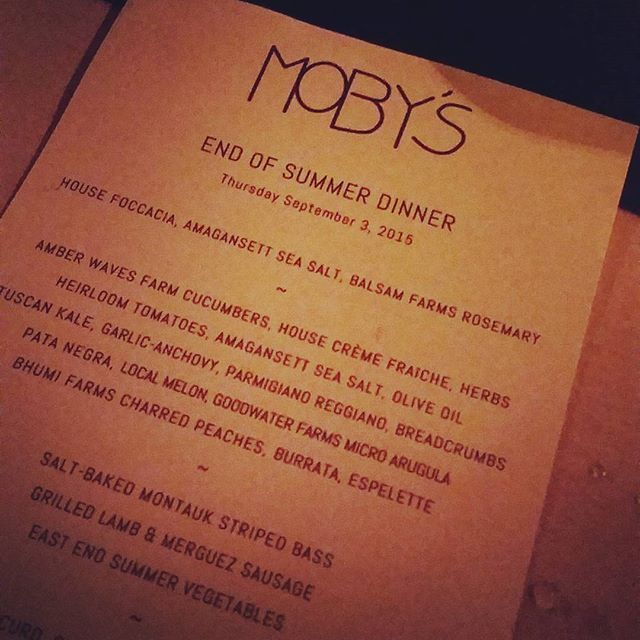 Cheers to another great summer #endlesssummer #mobysny