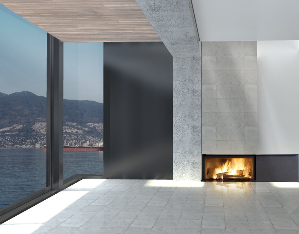 PG fireplace