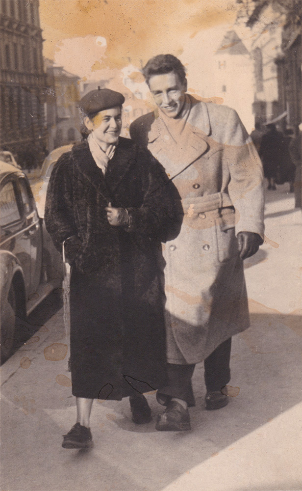 Original-Fotografie aus den 50ern nach erstem Scan. Klick für größere Ansicht