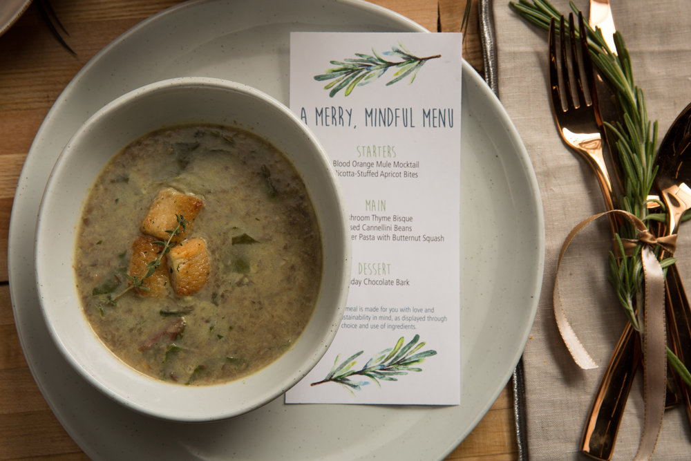 Delightfully rich and smooth, mushrooms take center stage in this exceptional soup.