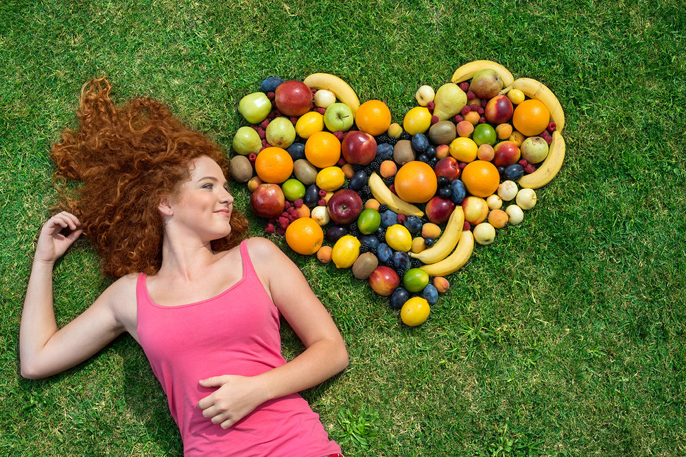 Heart healthy foods like fresh fruits and vegetables are essential to a healthy diet.
