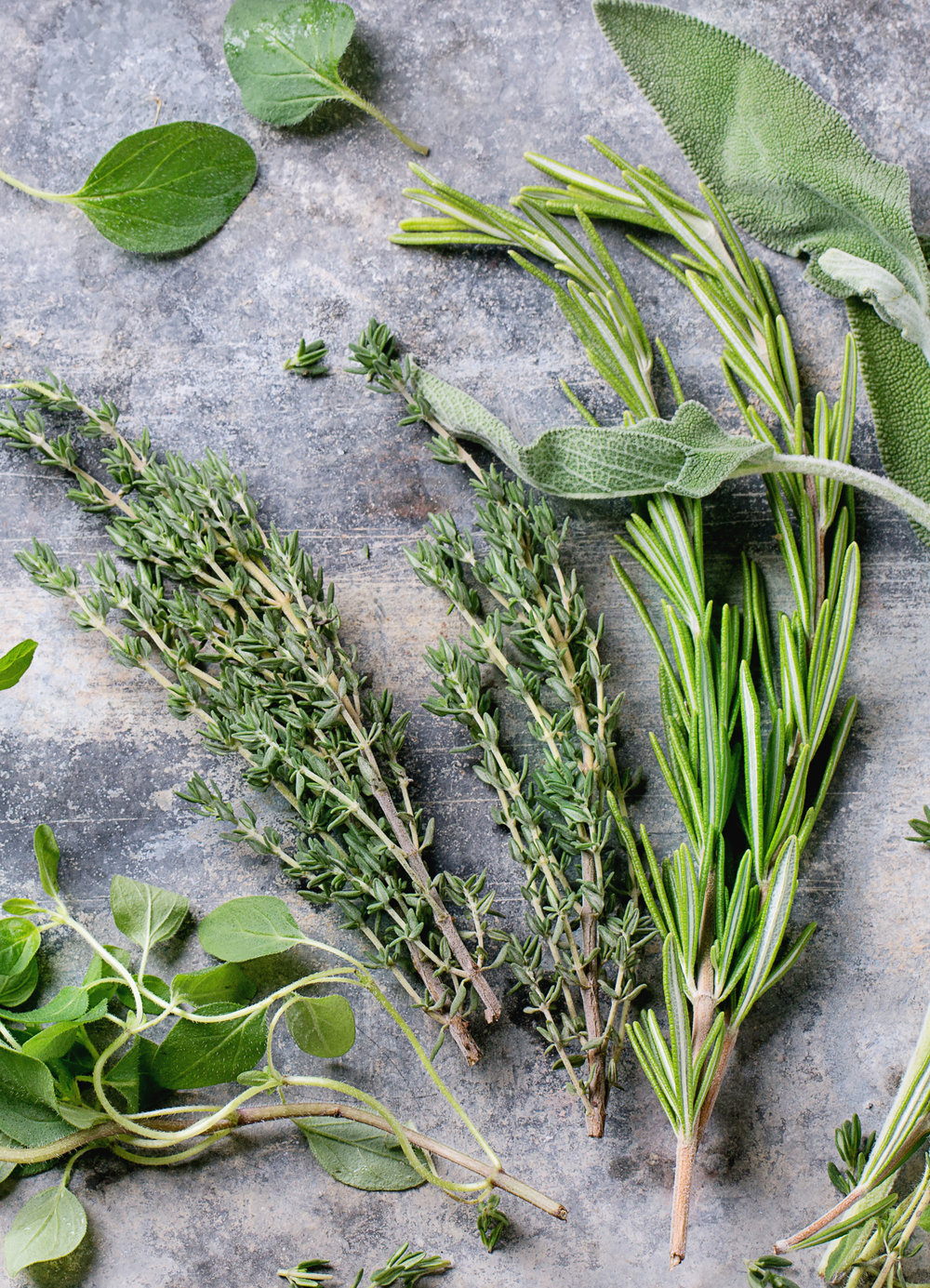 Savory Brine - Pick up fresh herbs from your Co+op and mix with pantry basics to create a rich and savory brine for a delightfully aromatic infusion.2 cups salt3-4 sprigs fresh thyme, crushed3-4 sprigs fresh oregano, crushed or roughly chopped2-3 sprigs fresh rosemary, crushed