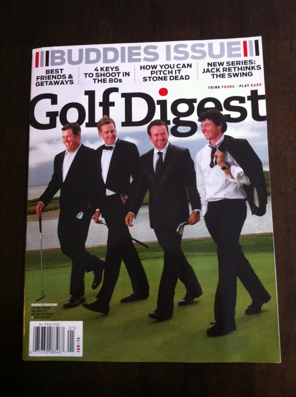 Golf Digest - Westwood, Poulter, McDowell, McIlroy