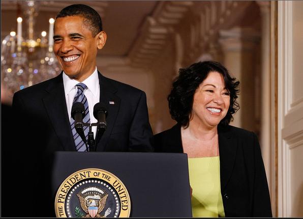 The President & Sonia Sotomayor