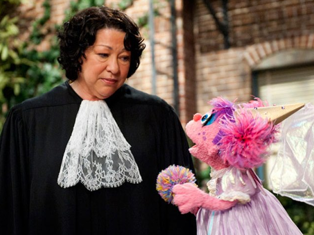 Justice Sonia and Sesame Street - Abby