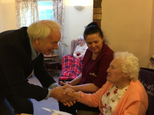 """Chris Harding CONGRATULATIng Marjorie... """" WHAT A GREAT ARTICLE YOU WROTE"""""""