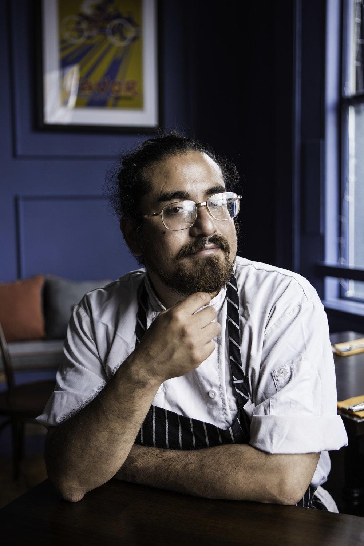 Ricky Gallagher Chef // Voici Restaurant