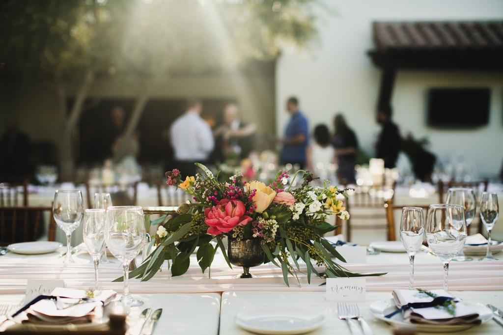 Hai Shawn El Chorro Wedding Reception Wedding Event Florist