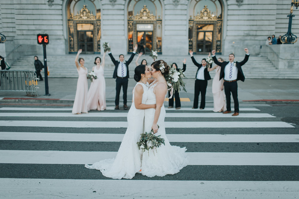 Lisa + Jess - San Francisco City Hall | San Francisco, California