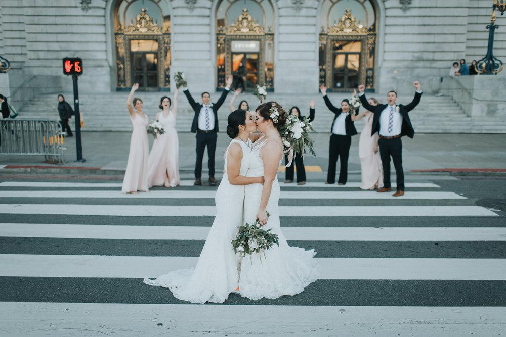 Lisa + Jess - San Francisco City Hall | San Francisco, California