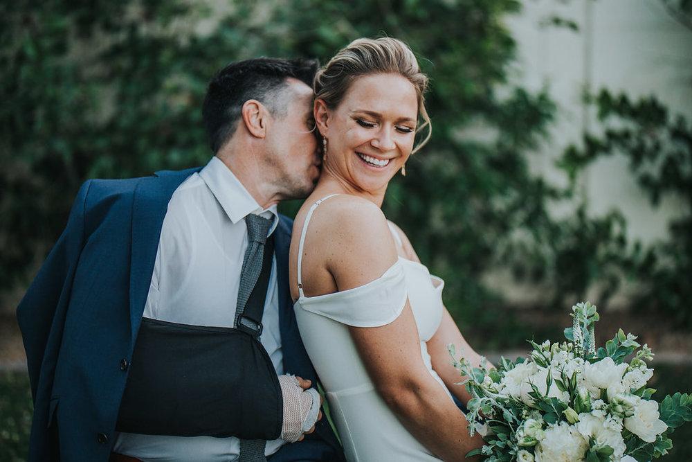 Kate + Bryon - Backyard Ceremony | Phoenix, Arizona