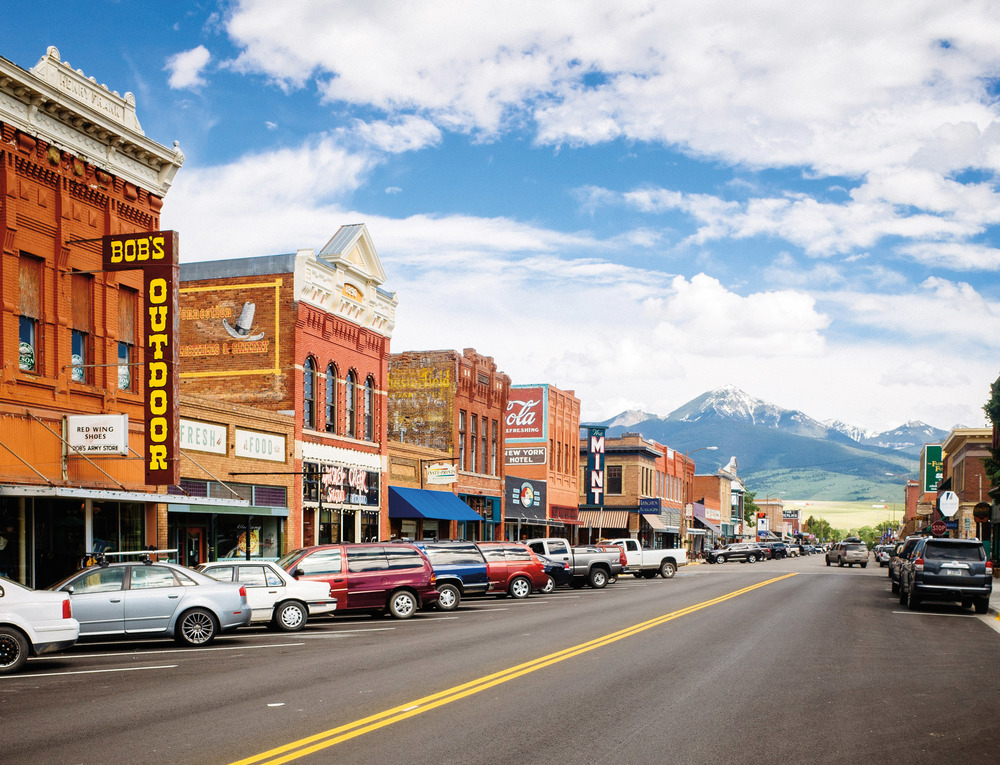 LIVINGSTON, MONTANA  ROUGH-AND-TUMBLE RAILROAD TOWN   Discover