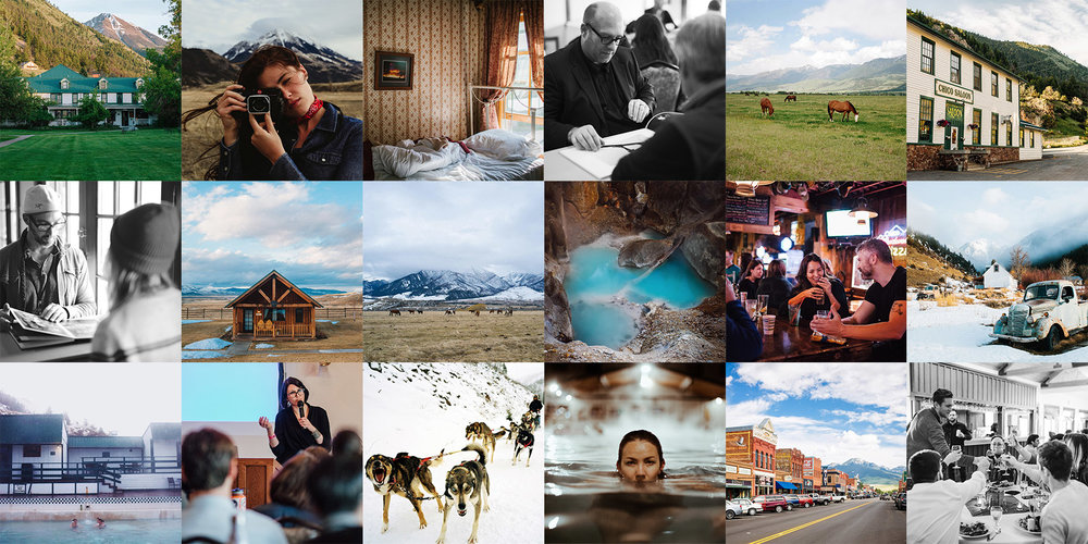 Chico Hot Springs Portfolio Review  & Charcoal Publishing Prize    Submit Now