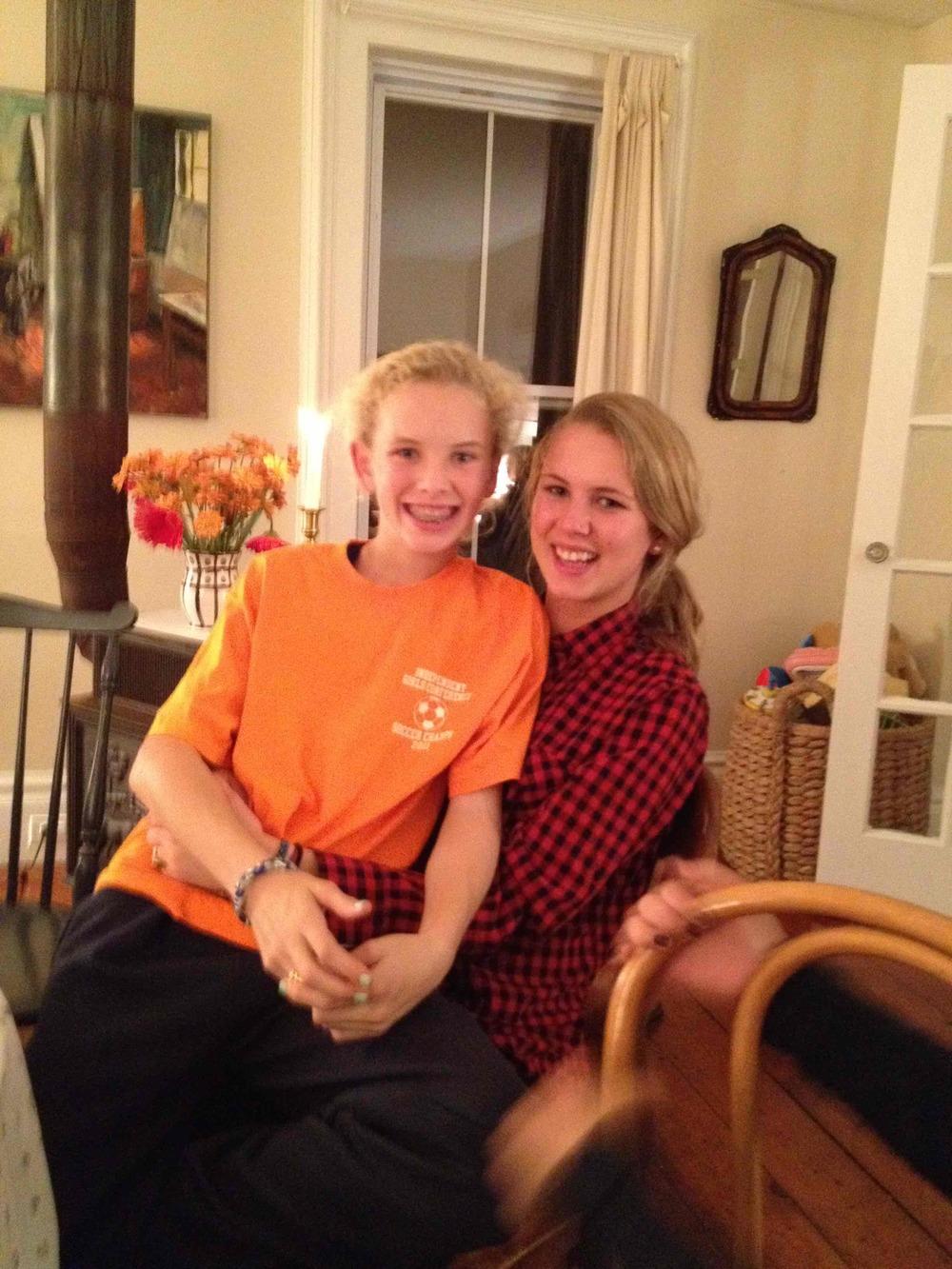 Elizabeth and Hannah