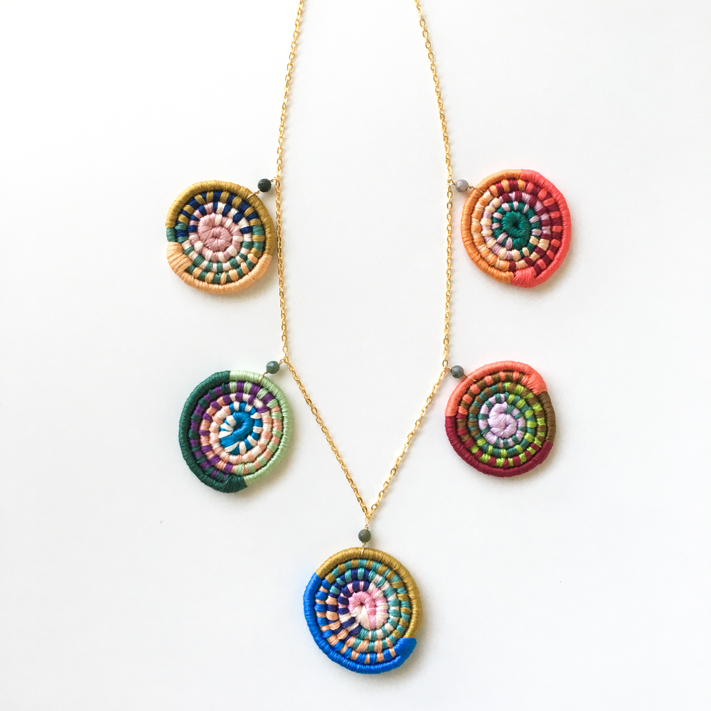 Unique Statement Necklace by Sunfern Studio // SHOP @ sunfernstudio.com
