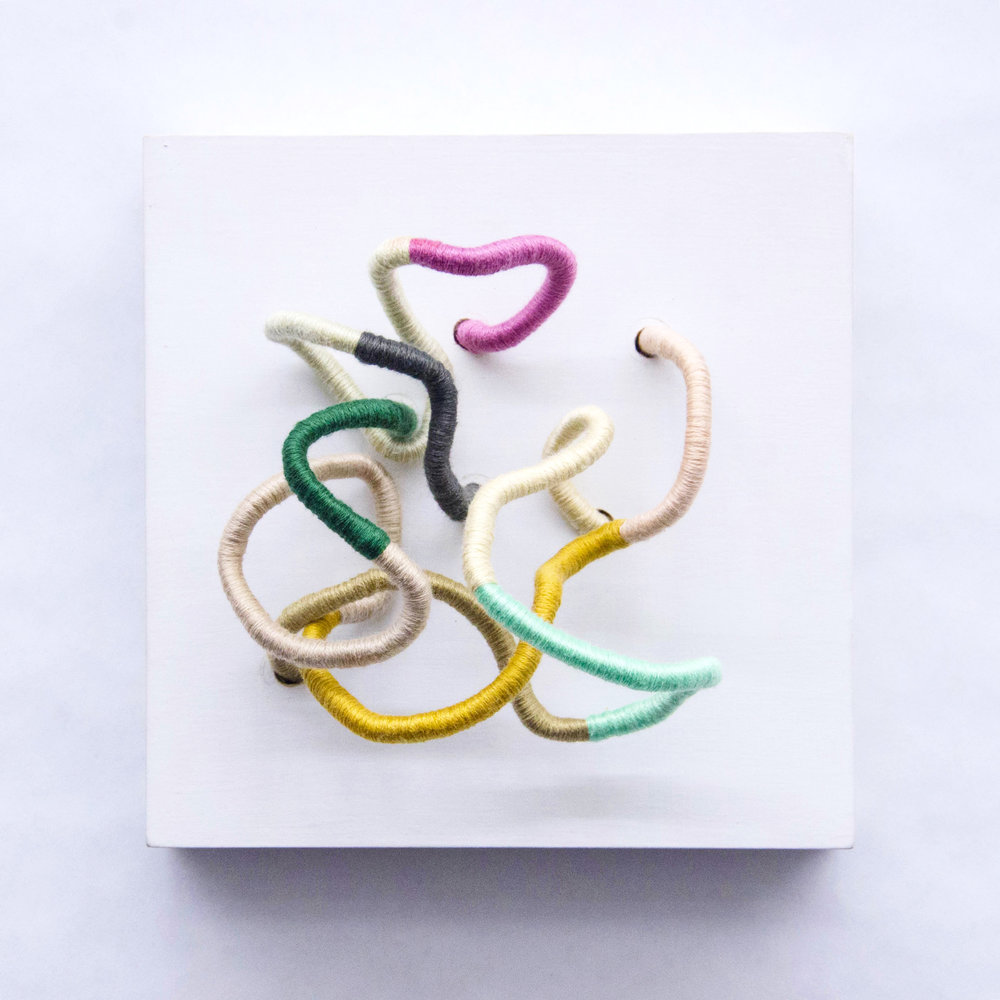 Handmade Woven Wall Hanging by Mafe Soltero | Sunfern Studio | sunfernstudio.com