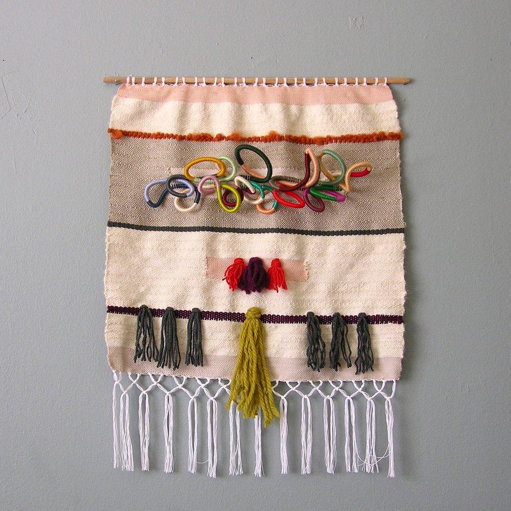 Handmade Woven Wall Hanging by Sunfern Studio // sunfernstudio.com