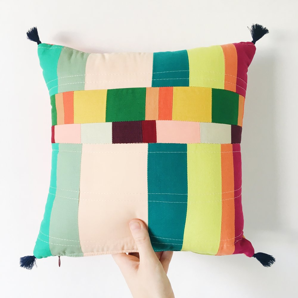 Shop Handmade Pillows by Sunfern Studio // sunfernstudio.com