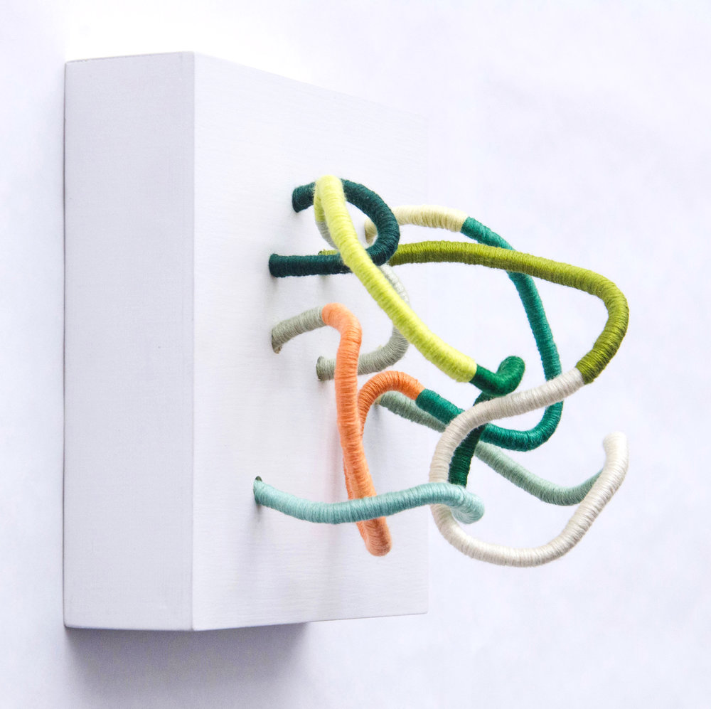 Contemporary Fiber Sculptures - Tiny Monsters by Sunfern Studio // sunfernstudio.com