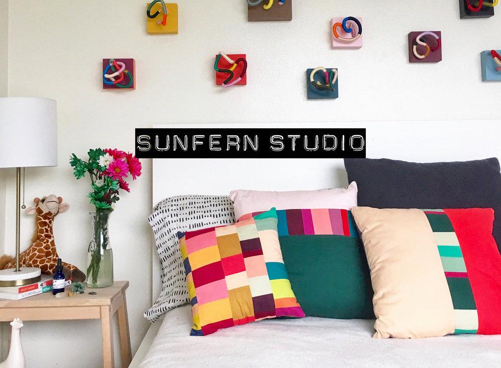 Vibrant Handmade Goods by Sunfern Studio // sunfernstudio.com