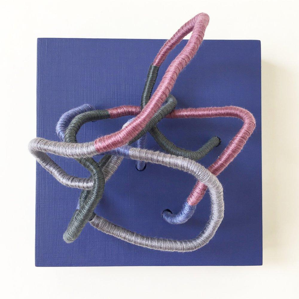 Contemporary Fiber Sculptures by Mafe Soltero | Sunfern Studio * sunfernstudio.com
