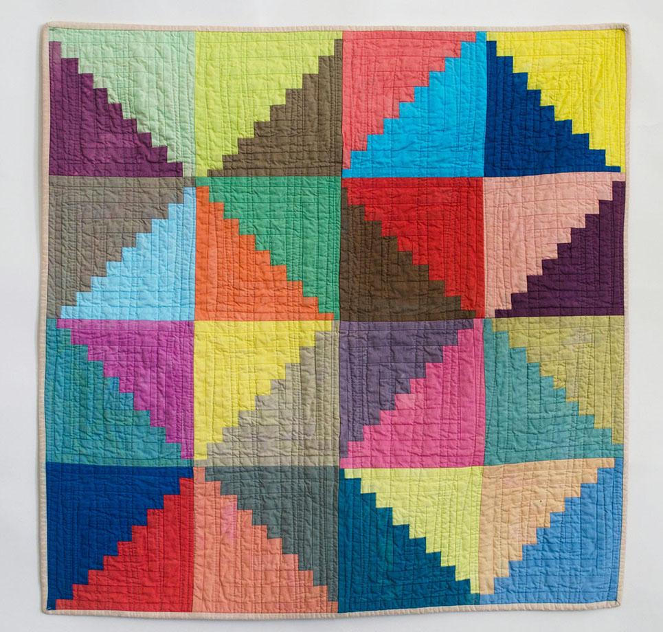Hand-Dyed Quilt - Sunfern Studio // thesunfernstudio.com