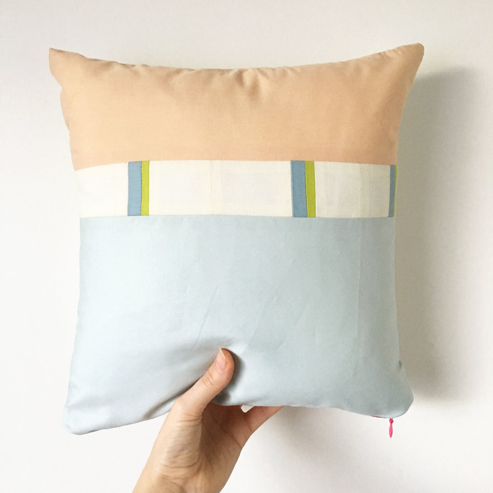 Quilted Pillow by Sunfern Studio // SHOP @ sunfernstudio.com