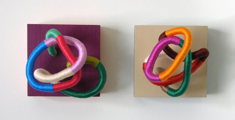 Contemporary Fiber Sculptures by Mafe Soltero | Sunfern Studio | sunfernstudio.com