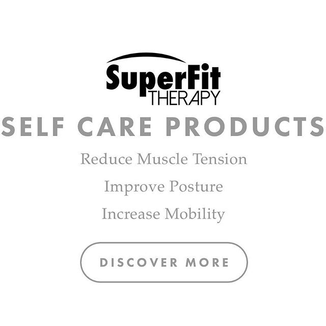 SuperFit Therapy website banner. #massagetherapy #products #selfcare #website