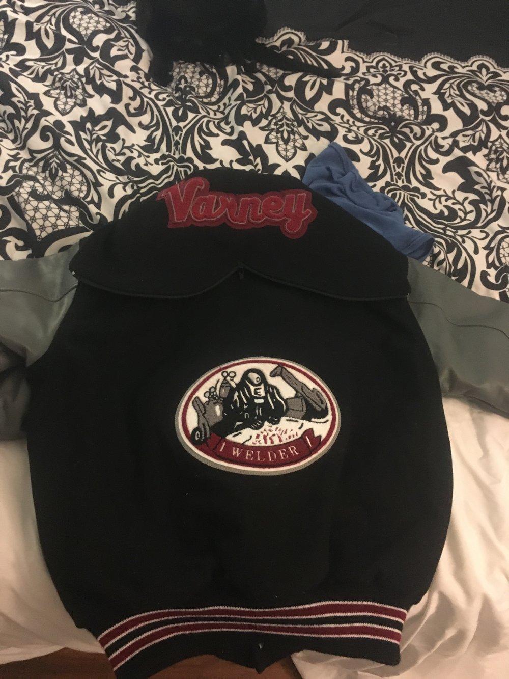 Jessica's Letterman Jacket