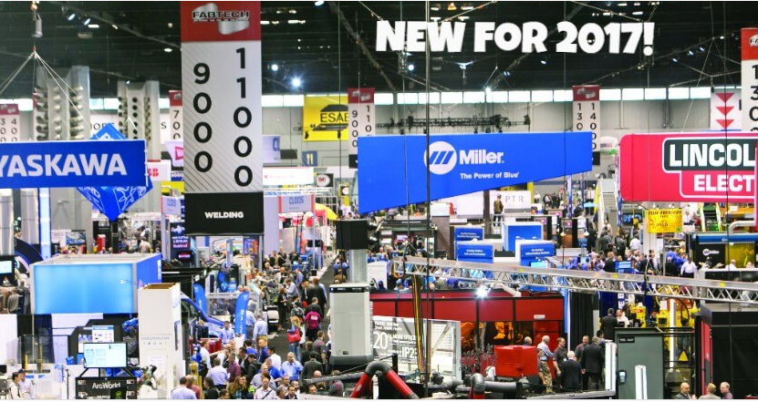 Discover all that is NEW at FABTECH 2017