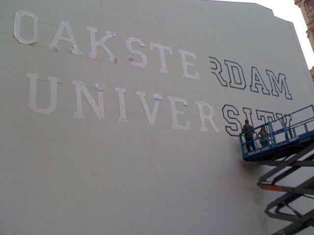 #oaksterdamuniversity late 2009 #townbusiness