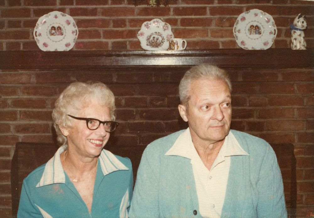 Randy's Grandfather and former Tidewater Dock Co. Employee Ted Leiser with his wife Grace.