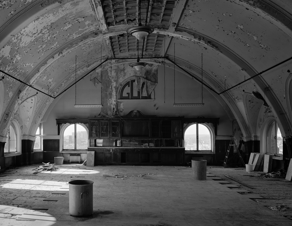 Banquet Hall, 10th Floor. Divine Lorraine Hotel. January, 2007.