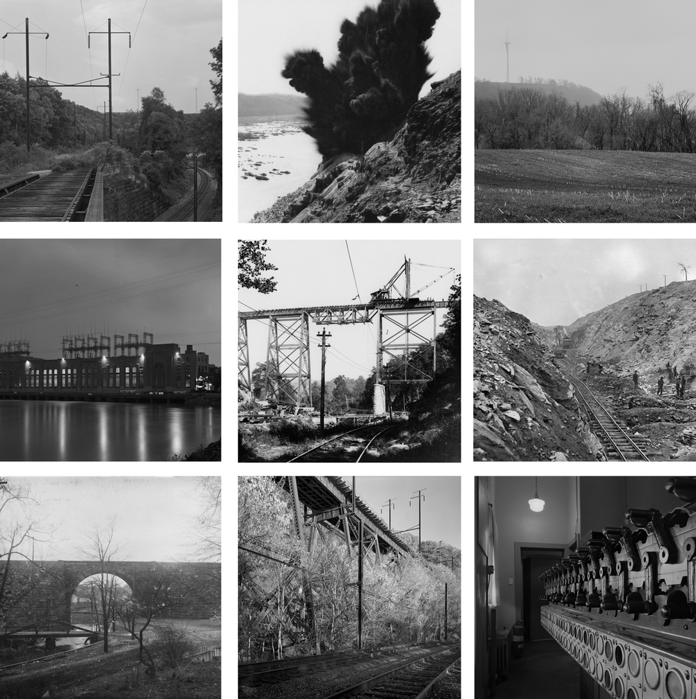 Highlights of upcoming posts on the PRR's A&S branch which completed the Low Grade network between Morrisville and Enola. Historical Images included in grid from the (Top row, middle, center row middle) Columbia Historic Preservation Society, Columbia, PA; The Kline Collection, Railroad Museum of Pennsylvania, PHMC (center row, right) and Moores Memorial Library, Christiana, PA (bottom row, left).