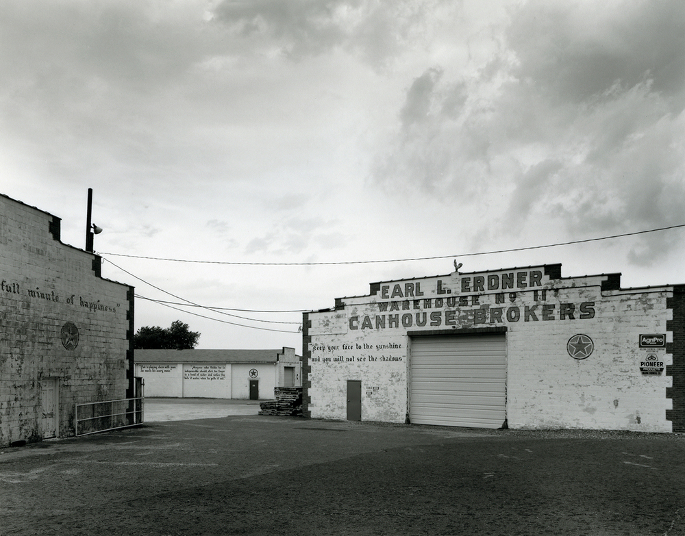 Erdner Warehouses, Woodstown, NJ. This image was from a series that started in college, photographing the agricultural regions of Salem, Cumberland and Gloucester Counties, what little is left of the Garden State of New Jersey.