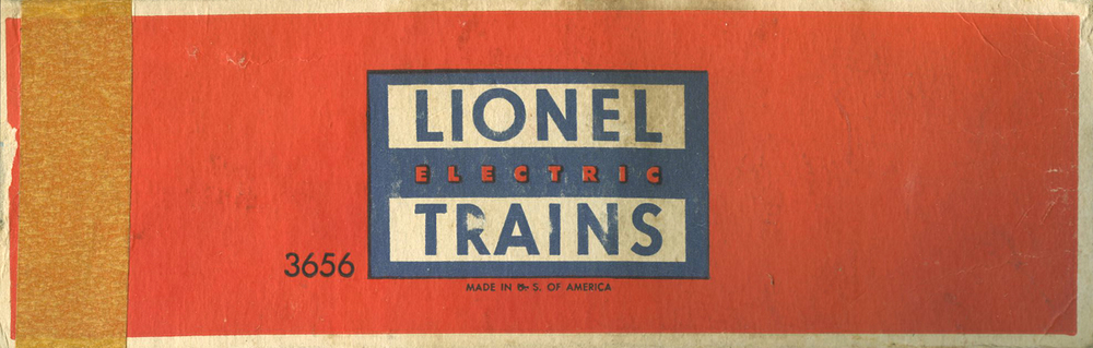 The ubiquitous orange and blue box that every Lionel Product was packed in. This is one of the few I have left that have held together over 60+ years from when my father had the trains as a boy.