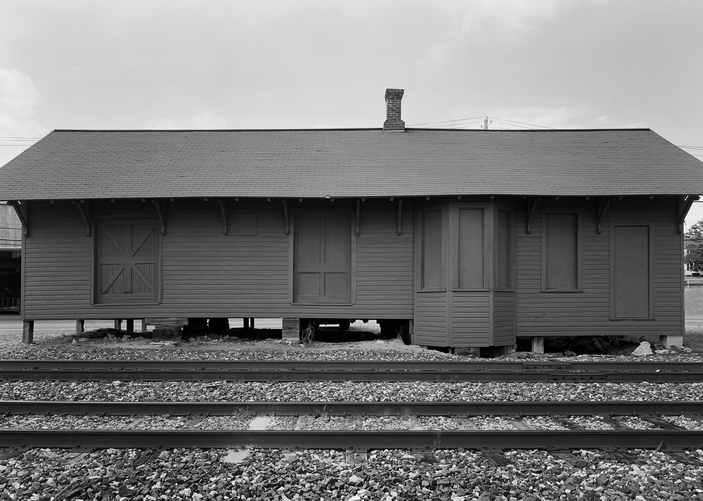 The frame combination freight and passenger station at Leola provided very modest accommodations for passengers up until 1930 when service was discontinued.