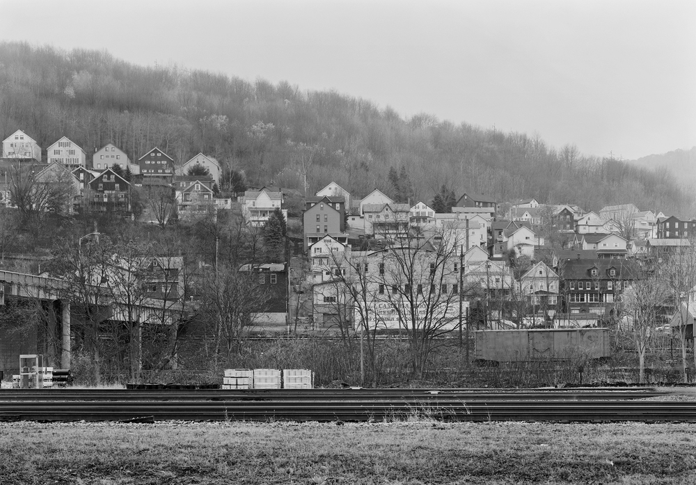 From the Mainline is a project that draws on many personal interests and is intended to be a long term investment creatively. Franklin Boro and Mainline, View from East Conemaugh, Pennsylvania.
