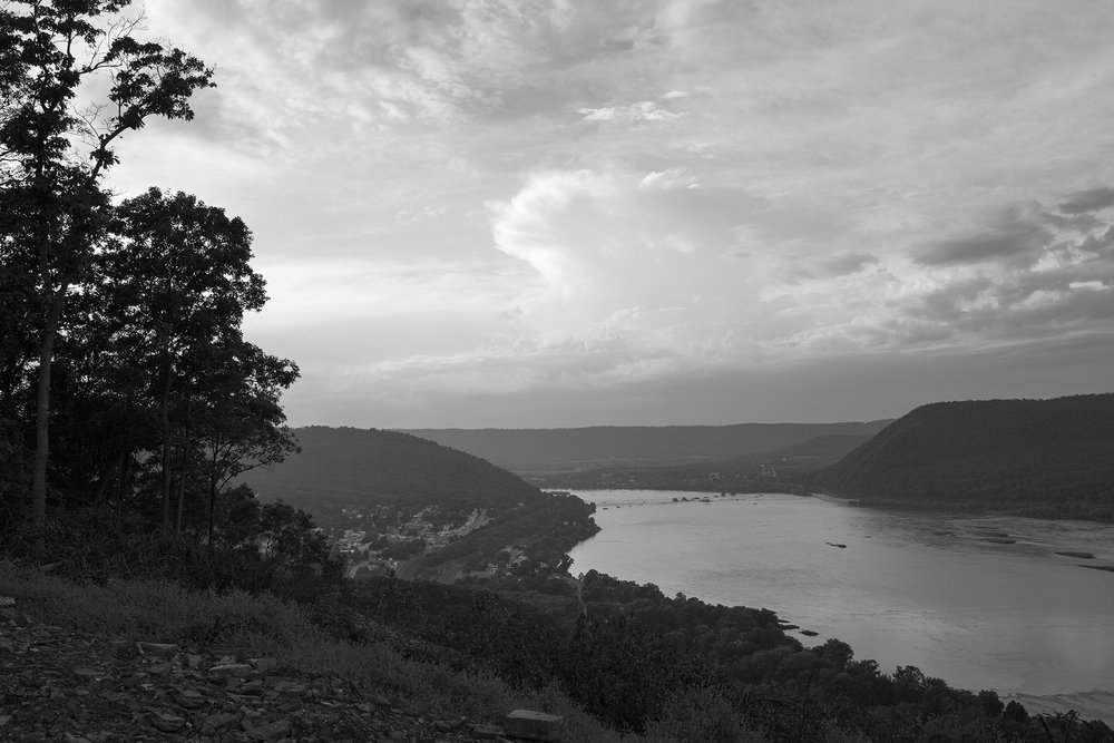 Northward view, Susquehanna River, Marysville, Pennsylvania.