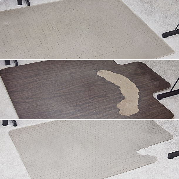 office com decorations attractive hardwood mats amazon floor chair opaque mat for