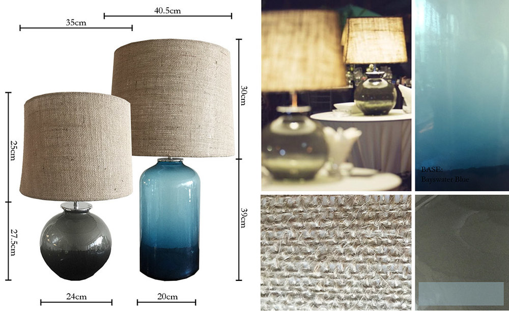 Iluma Lamps Cordless Table Lamps Jute - Events