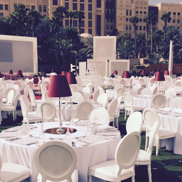 Cordless Lighting Events Dubai - Devonport Red