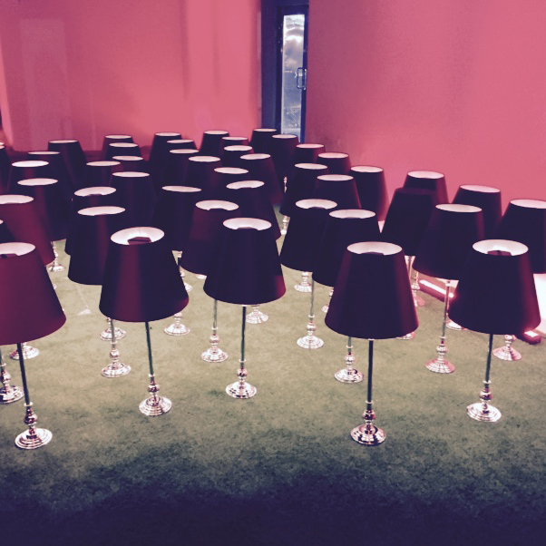 Cordless Lighting Dubai Events - Devonport red