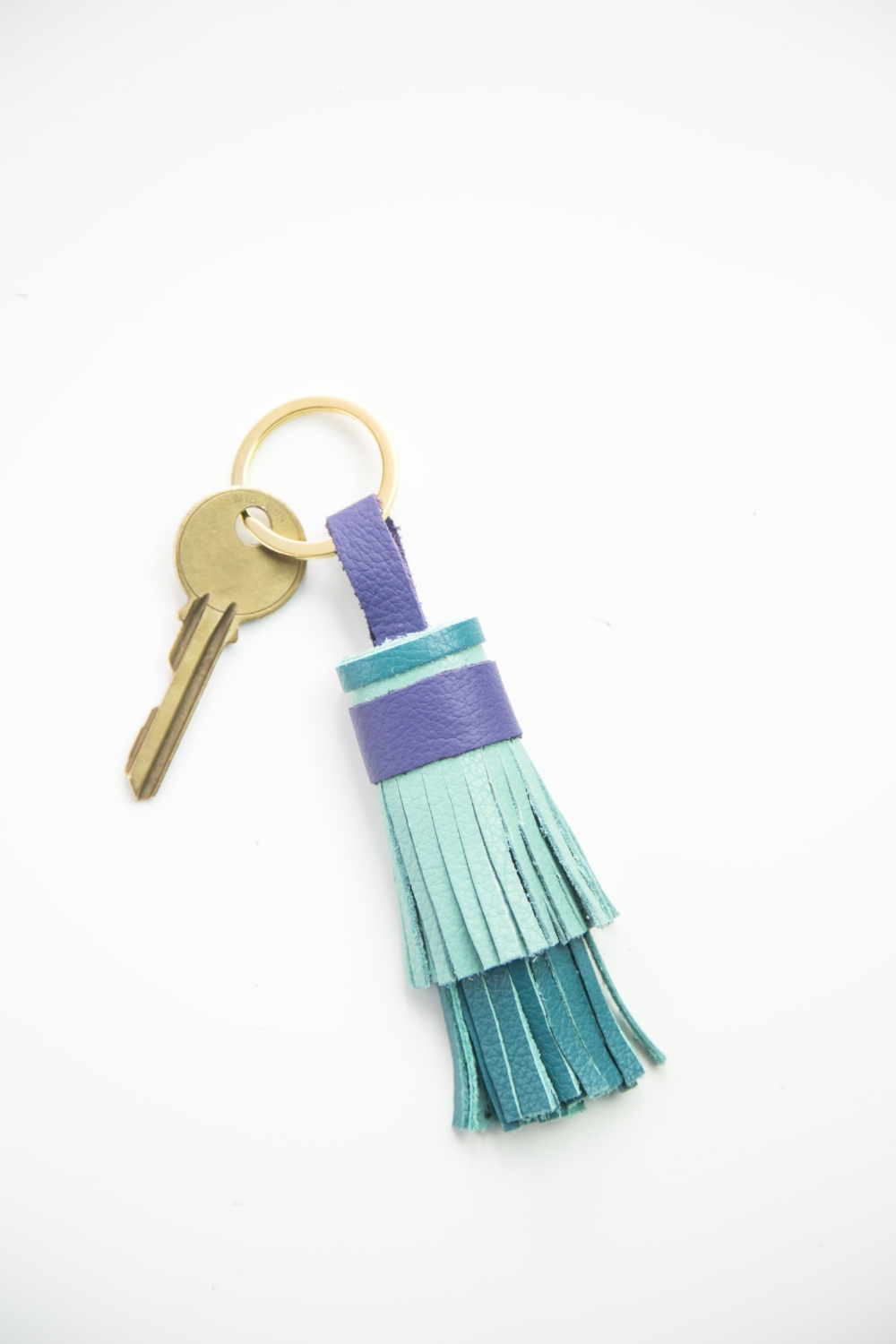 Colorful Tassel Keychain